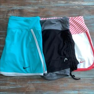 Bundle of 3 Tennis Skirts